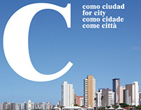"""C for city"", a magazine about the contemporary cities"