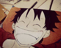Monkey D.Luffy -OnePiece- drawing