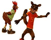 Adidas Commercial Treatment - Hens versus Martens.
