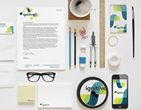 """ignitive"" Creative Agency Branding"