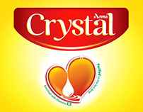 Crystal oil Re-Branding
