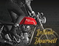Royal Enfield Motorcycles — Initiate Yourself Campaign
