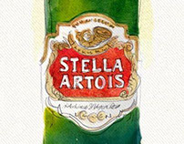 2012 STELLA ARTOIS IILLUSTRATIONS DOMINICANA MODA