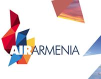 Air Armenia re-branding proposal