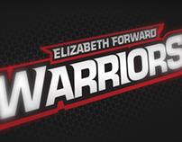 Elizabeth Forward Warriors Rebrand Concept