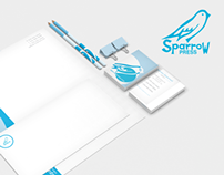 Sparrow Press Identity Package