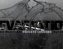 Devastation Drummer Video Logo