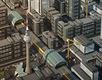 Berlin Lowpoly Styleframe