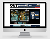 OUT & Gillette - Body Max