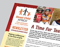 Street Child Africa Newsletter