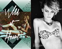 Graffiti Beach Magazine Wild at Heart lookbook