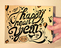 New Year's Ecard:           Happy 2014!