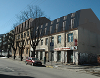 Extensions for apartment buildings, Algirdo st. 5 and 7