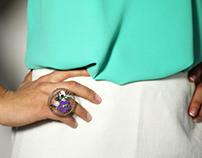 Iris    skirt and ring