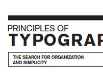 Principles of Typography