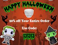 Shop Jeen Halloween Instagram Banner