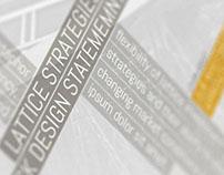 Concept for Lattice Strategies Web Site