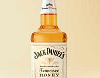 Jack Daniel's Tennesse Honey Product Shot