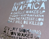 Every Morning In Africa
