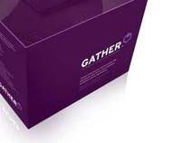 Gather - identity, packaging and product design