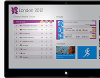 London 2012 Windows 8 App Design