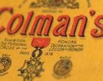 Recreating Vintage Packaging for Colman's Mustard