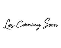 Los Coming Soon - Typography & Poster Design