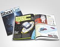 Shortlist Magazine Editorial Illustrations