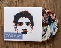 CD Illustration - Coldplay Don't Panic