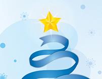 Cartão Natal Empresarial