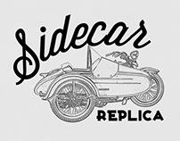 Sidecar Replica - website&logo design