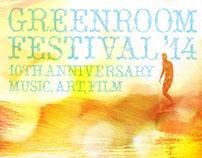 Greenroom Festival Branding