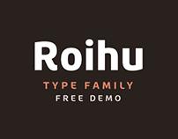 Roihu typeface