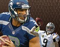 Seahawks vs Saints   Divisional Playoff