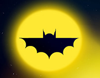 Bat Signal: Finger painting with Photoshop Touch