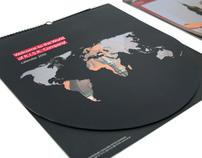 ''Borderless calendar'' for R.I.S.K company