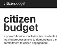 Citizen Budget