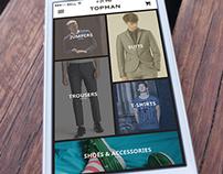 Topman App Concept