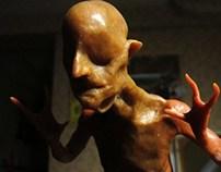 Waxwork Character Sculpture
