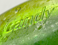 Green candy