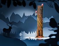 Cinnamon houses/ Pepparkakshus