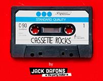 Cassette Rock Poster