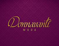 Naming e Identidade Visual para Donnavanti Moda