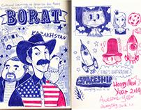 MY SKETCH BOOK  2014.01