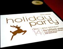 adidas Holiday Party Invitation