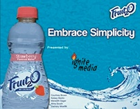Class Project: Fruit2O Advertising Plan