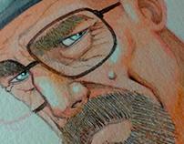 Heisenberg Caricature