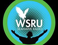 WSRU Salve Regina Radio Station T-shirt Design