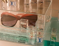 Sunglass Water Display