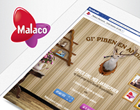 Malaco Facebook App // Lakridspiben